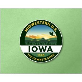 "Iowa 3.6"" Circle"