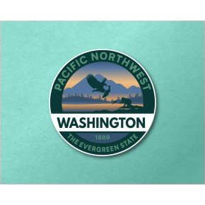"Washington 3.6"" Circle"