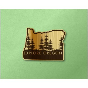 Oregon Wood Decal