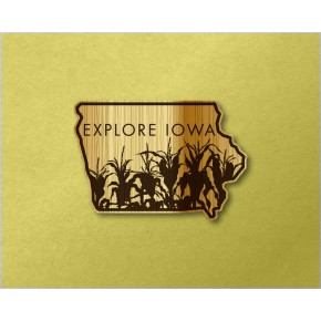 Iowa Wood Decal