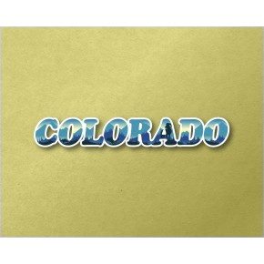 Colorado Panoramic Text VT