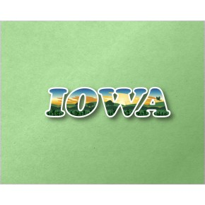 Iowa Panoramic Text VT