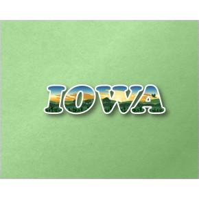 Iowa Panoramic Text VT