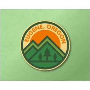 "Eugene Mtn/Tree 3.6"" Circle..."