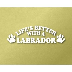 Labrador Pet Vinyl Transfer