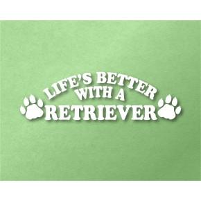 Retriever Pet Vinyl Transfer