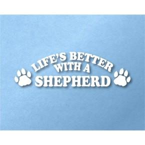 Shepherd Pet Vinyl Transfer