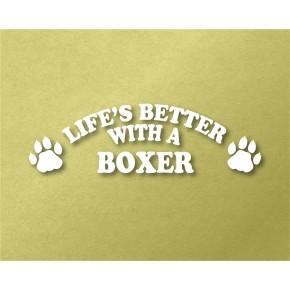 Boxer Pet Vinyl Transfer