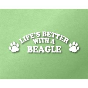 Beagle Pet Vinyl Transfer