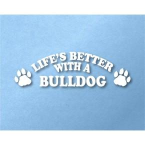 Bulldog Pet Vinyl Transfer