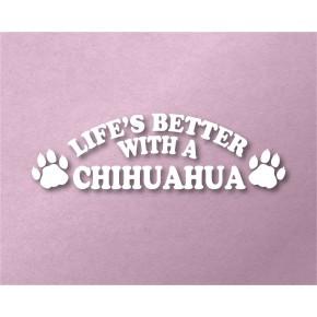 Chihuahua Pet Vinyl Transfer