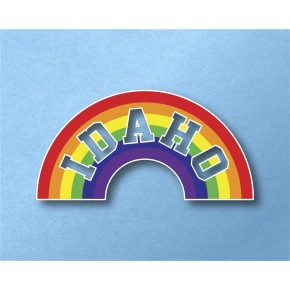 Idaho Rainbow Vinyl Transfer