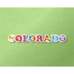 Colorado Chrome Tie Dye Strip