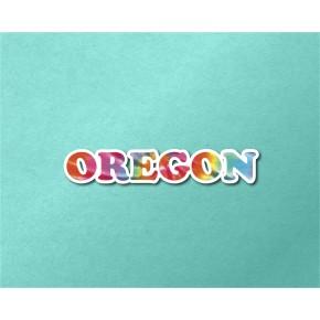Oregon Chrome Tie Dye Strip