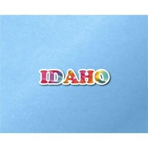 Idaho Chrome Tie Dye Strip