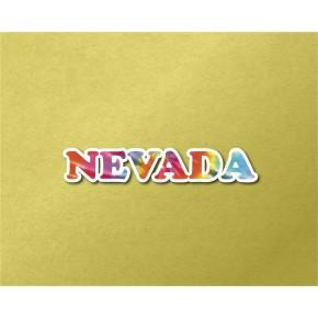 Nevada Chrome Tie Dye Strip