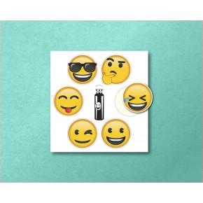Emoji MiniCircles 6/pk