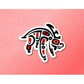 PNW Totem: Caribou