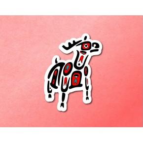 PNW Totem: Elk