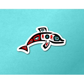 PNW Totem: Dolphin A