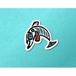 PNW Totem: Dolphin B