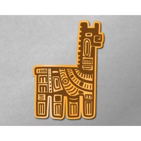 Aztec-Inca Totem: Llama