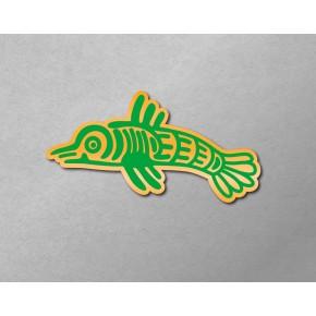 Aztec-Inca Totem: Fish A