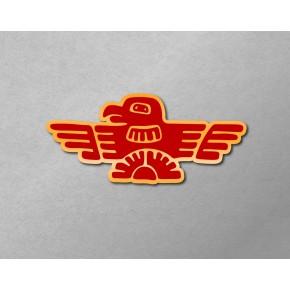 Aztec-Inca Totem: Thunderbird