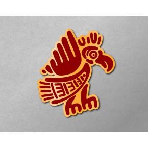 Aztec-Inca Totem: Bird A