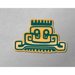 Aztec-Inca Totem: Temple