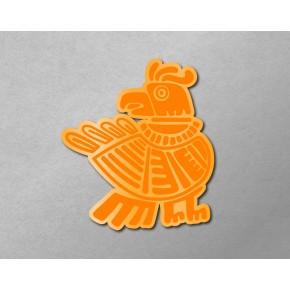Aztec-Inca Totem: Bird B