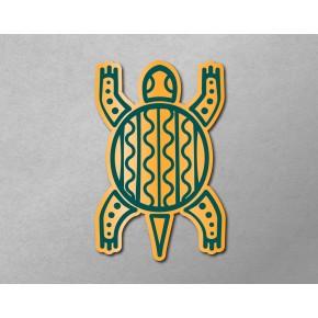 Aztec-Inca Totem: Tortise