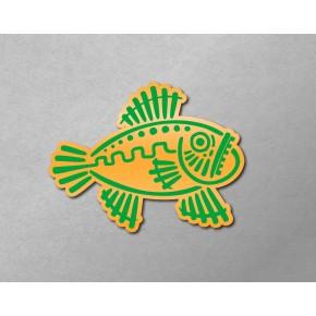 Aztec-Inca Totem: Fish B