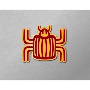 Aztec-Inca Totem: Beetle
