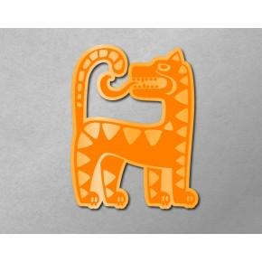 Aztec-Inca Totem: Jaguar