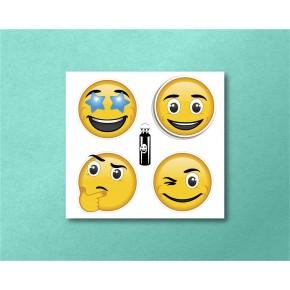 Emojis Mini 4/pk: Star,...