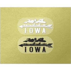 Iowa Clear 2/pk
